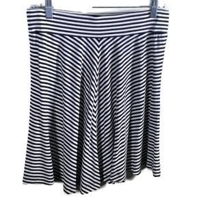 Ann Taylor Loft women's skirt size medium striped
